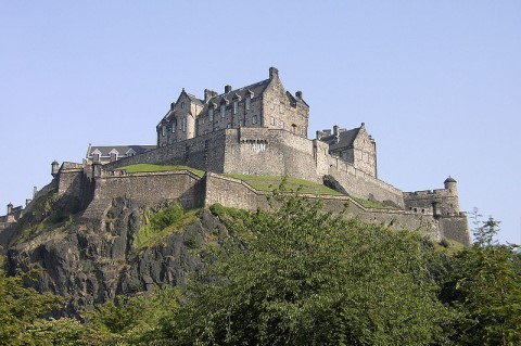 Edinburgh Castle, Schottland