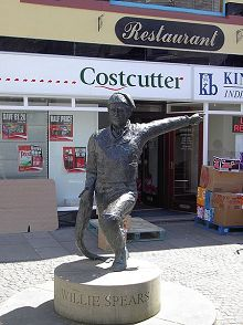 William Spears Staue Eyemouth Schottland