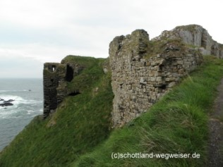 Findlater Castle Schottland