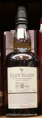 Glen Elgin Whisky Schottland